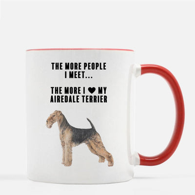 Airedale Terrier Love Coffee Mug