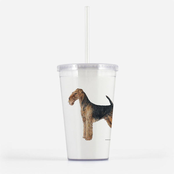Airedale Terrier Beverage Tumbler