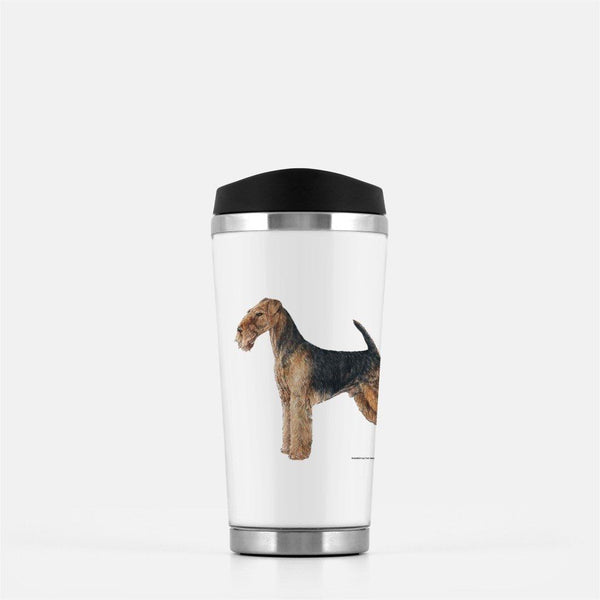 Airedale Terrier Travel Mug
