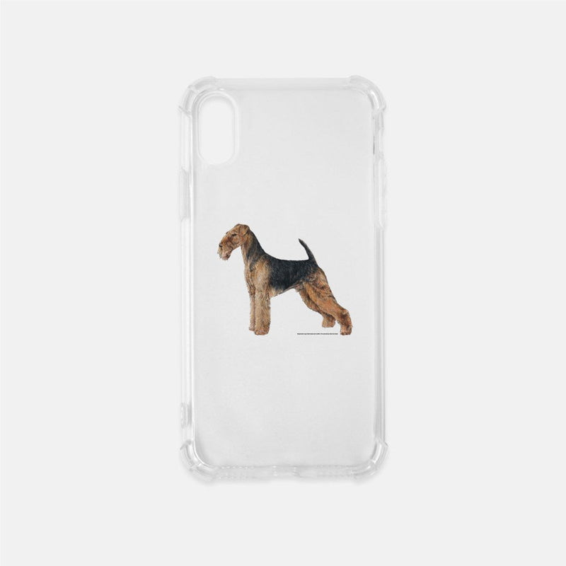 Airedale Terrier Clear Phone Case