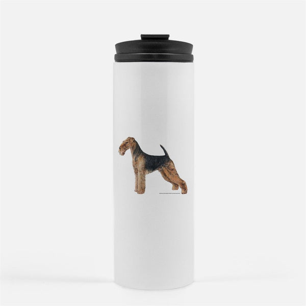 Airedale Terrier Thermal Tumbler