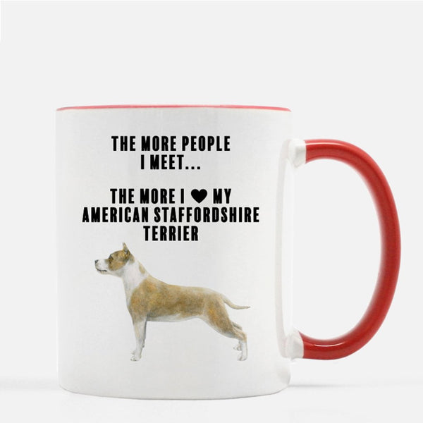 American Staffordshire Terrier Love Coffee Mug