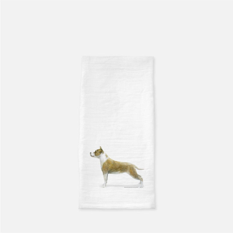 American Staffordshire Terrier Tea Towel