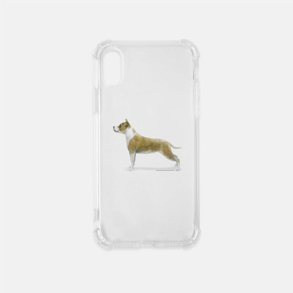 American Staffordshire Terrier Clear Phone Case