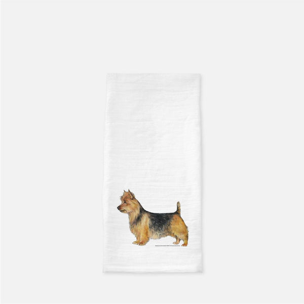 Australian Terrier Tea Towel