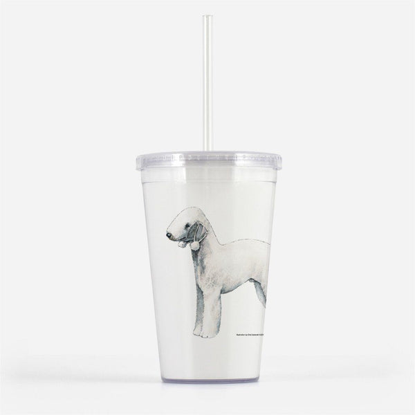 Bedlington Terrier Beverage Tumbler