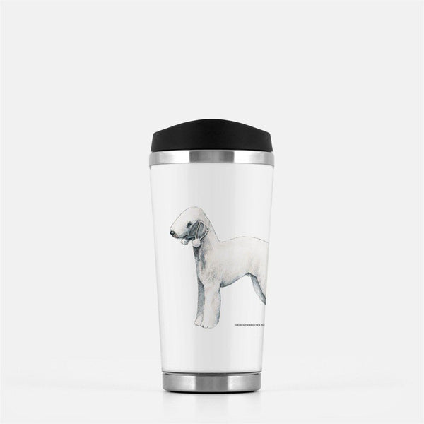 Bedlington Terrier Travel Mug