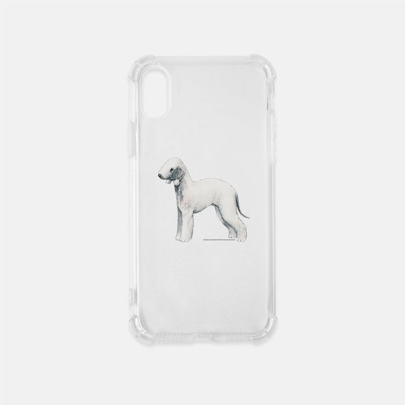 Bedlington Terrier Clear Phone Case