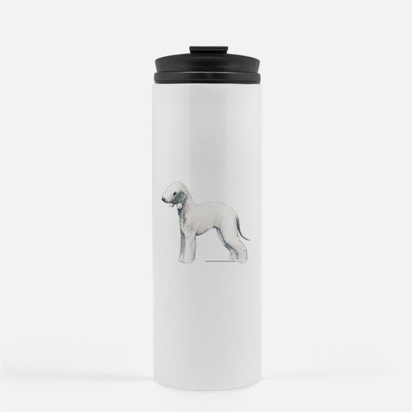 Bedlington Terrier Thermal Tumbler