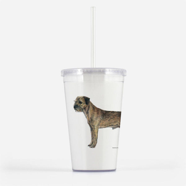 Border Terrier Beverage Tumbler