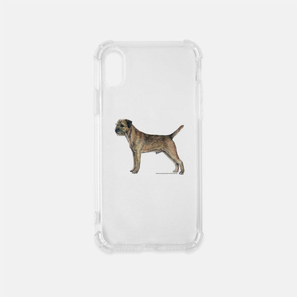 Border Terrier Clear Phone Case