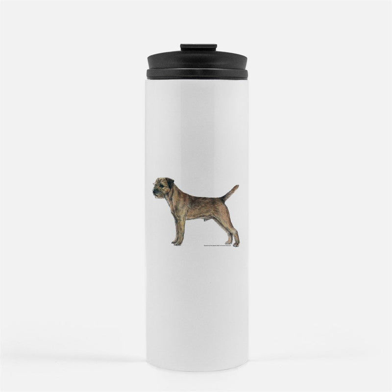 Border Terrier Thermal Tumbler