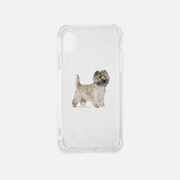 Cairn Terrier Clear Phone Case