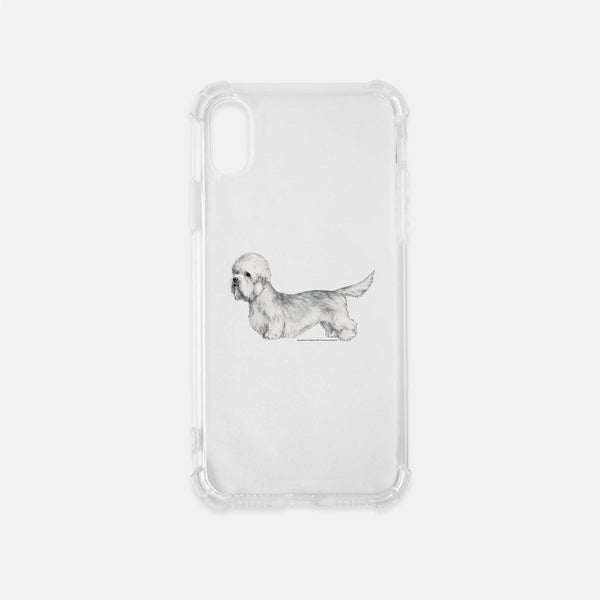 Dandie Dinmont Terrier Clear Phone Case
