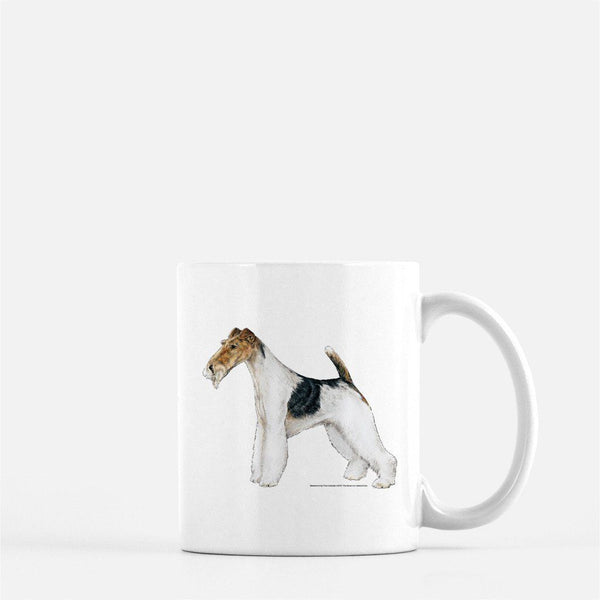 Wire Fox Terrier Coffee Mug