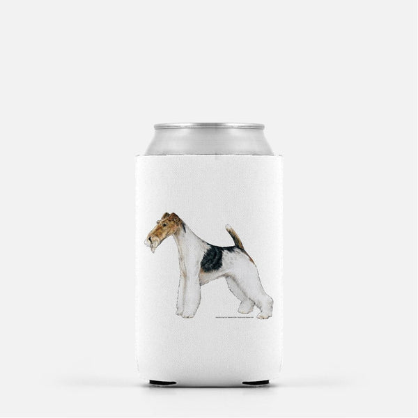 Wire Fox Terrier Koozie