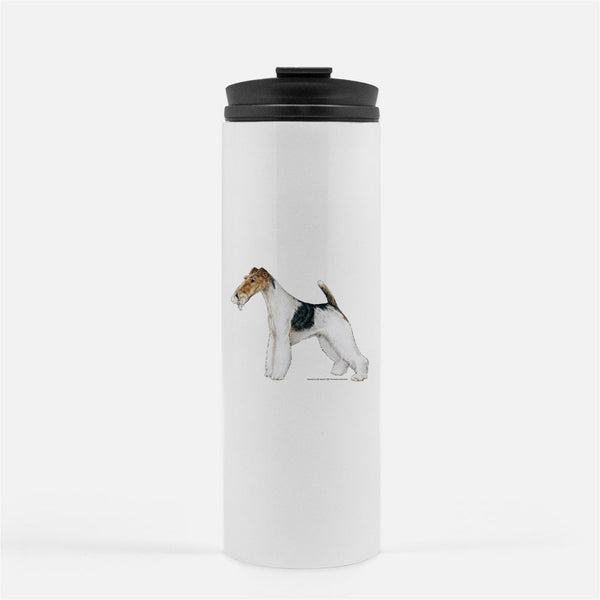 Wire Fox Terrier Thermal Tumbler