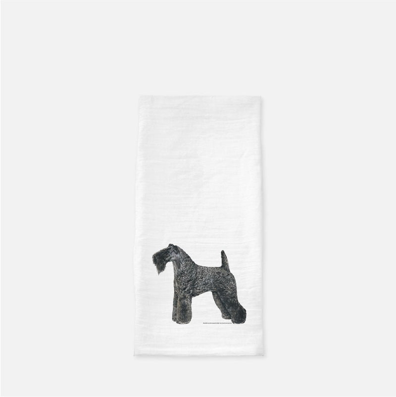 Kerry Blue Terrier Tea Towel