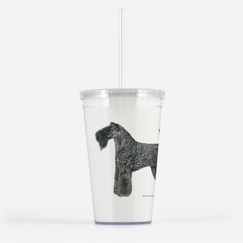 Kerry Blue Terrier Beverage Tumbler