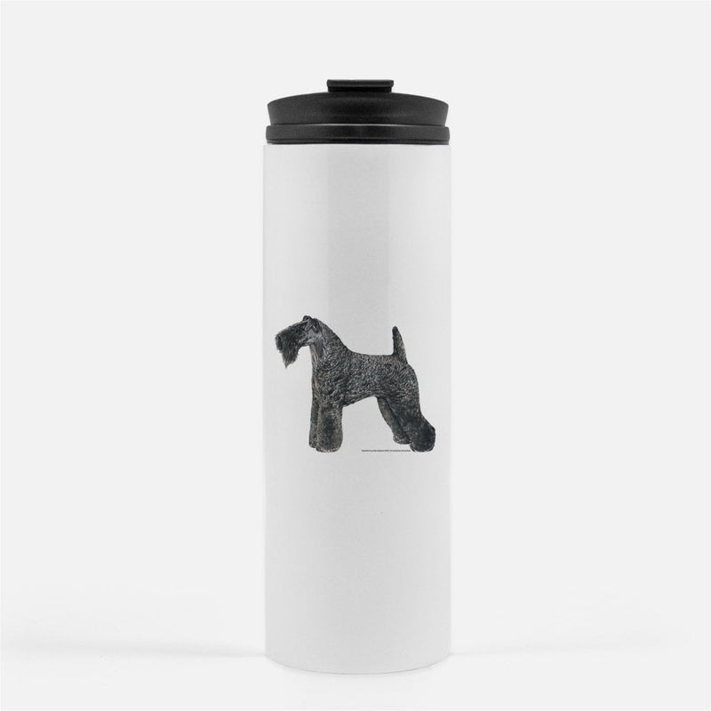 Kerry Blue Terrier Thermal Tumbler