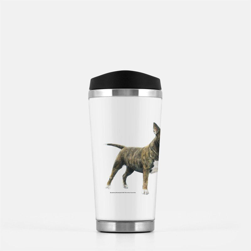Miniature Bull Terrier Travel Mug