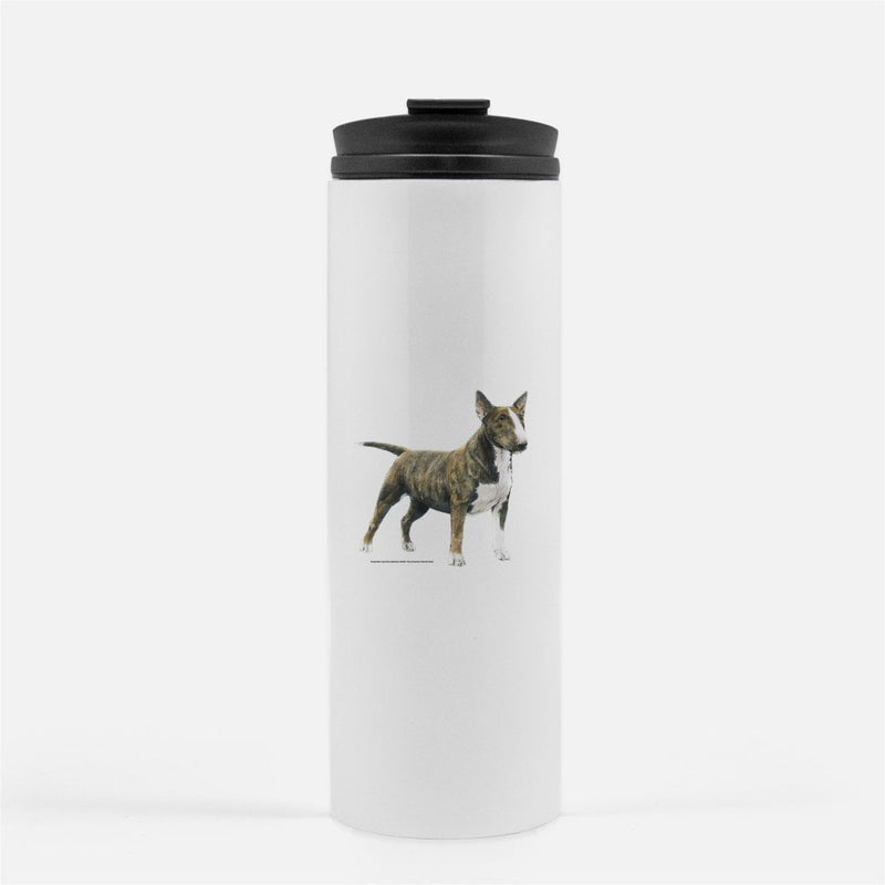Miniature Bull Terrier Thermal Tumbler
