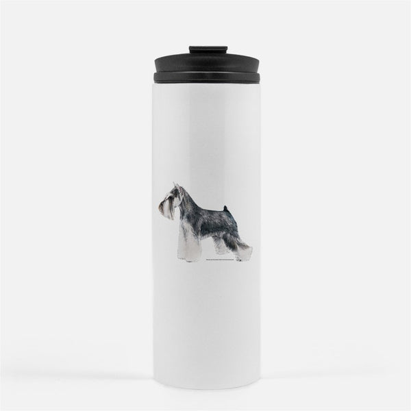 Miniature Schnauzer Thermal Tumbler
