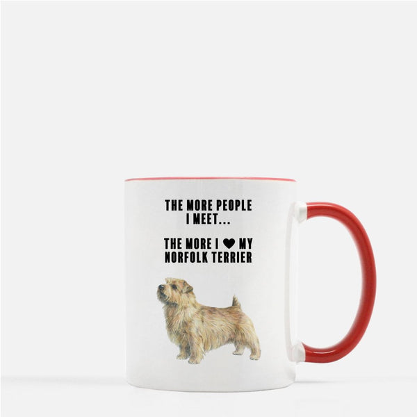Norfolk Terrier Love Coffee Mug