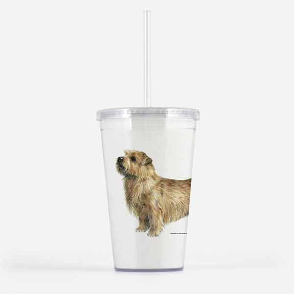 Norfolk Terrier Beverage Tumbler