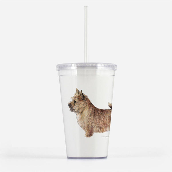 Norwich Terrier Beverage Tumbler