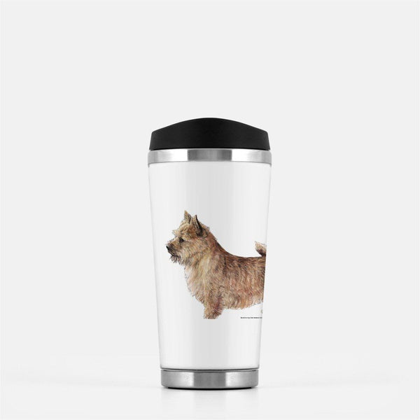 Norwich Terrier Travel Mug