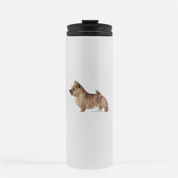 Norwich Terrier Thermal Tumbler