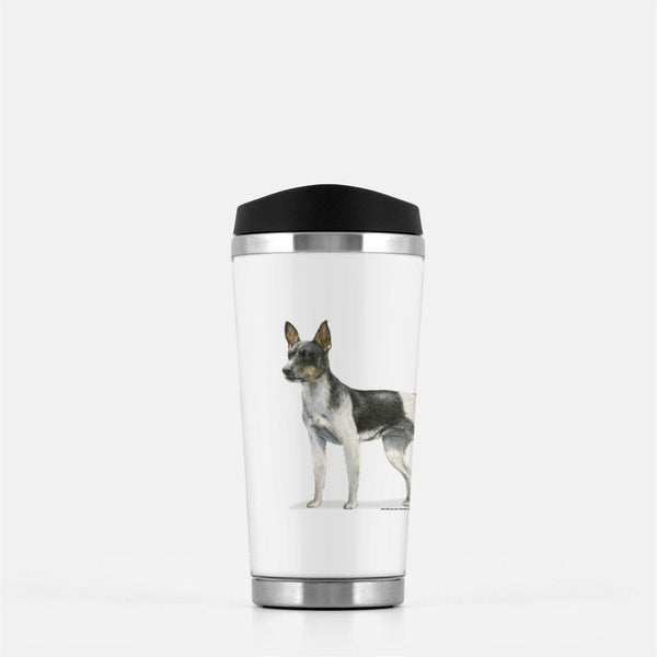 Rat Terrier Travel Mug