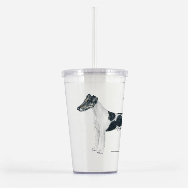 Smooth Fox Terrier Beverage Tumbler