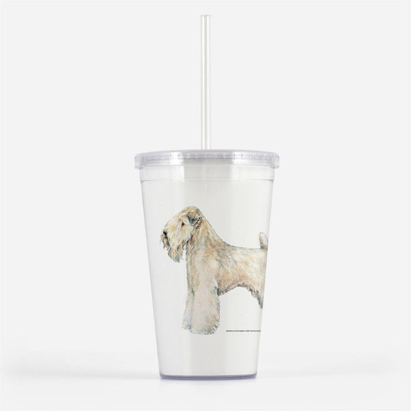 Soft Coated Wheaten Terrier Beverage Tumbler
