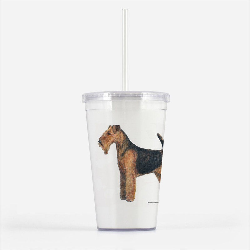 Welsh Terrier Beverage Tumbler