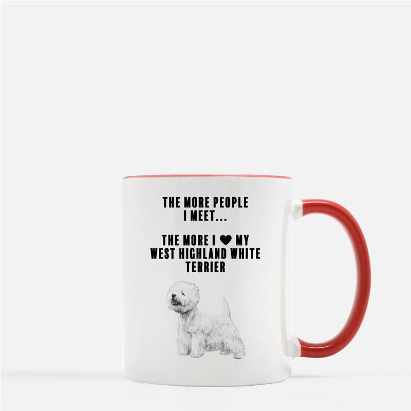 West Highland White Terrier Love Coffee Mug