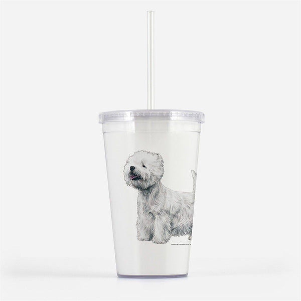 West Highland White Terrier Beverage Tumbler