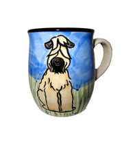 Wheaten Terrier Hand-Painted Ceramic Mug