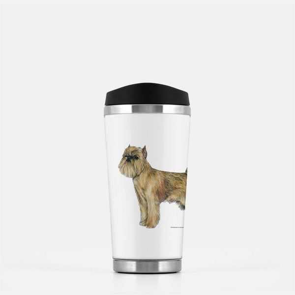 Brussels Griffon Travel Mug