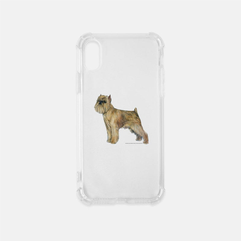 Brussels Griffon Clear Phone Case