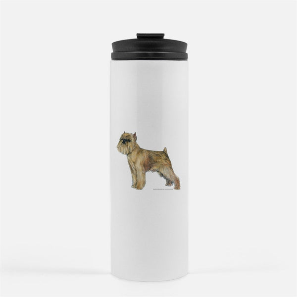 Brussels Griffon Thermal Tumbler