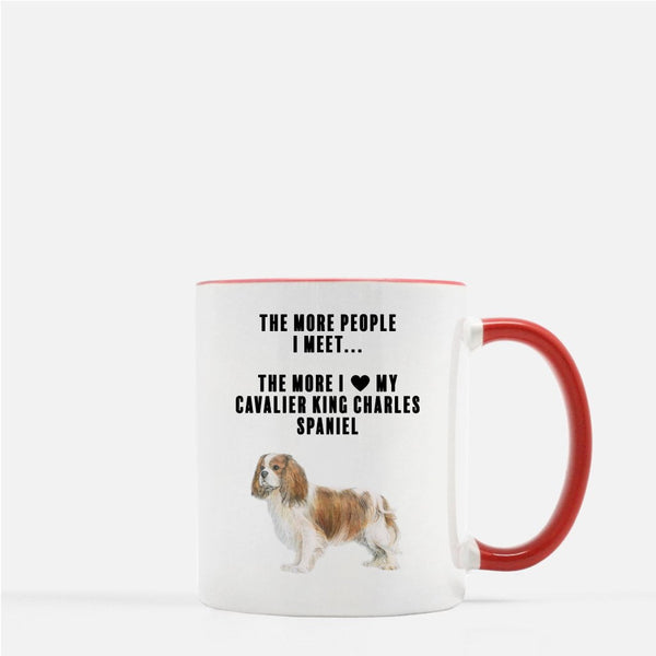 Cavalier King Charles Spaniel Love Coffee Mug