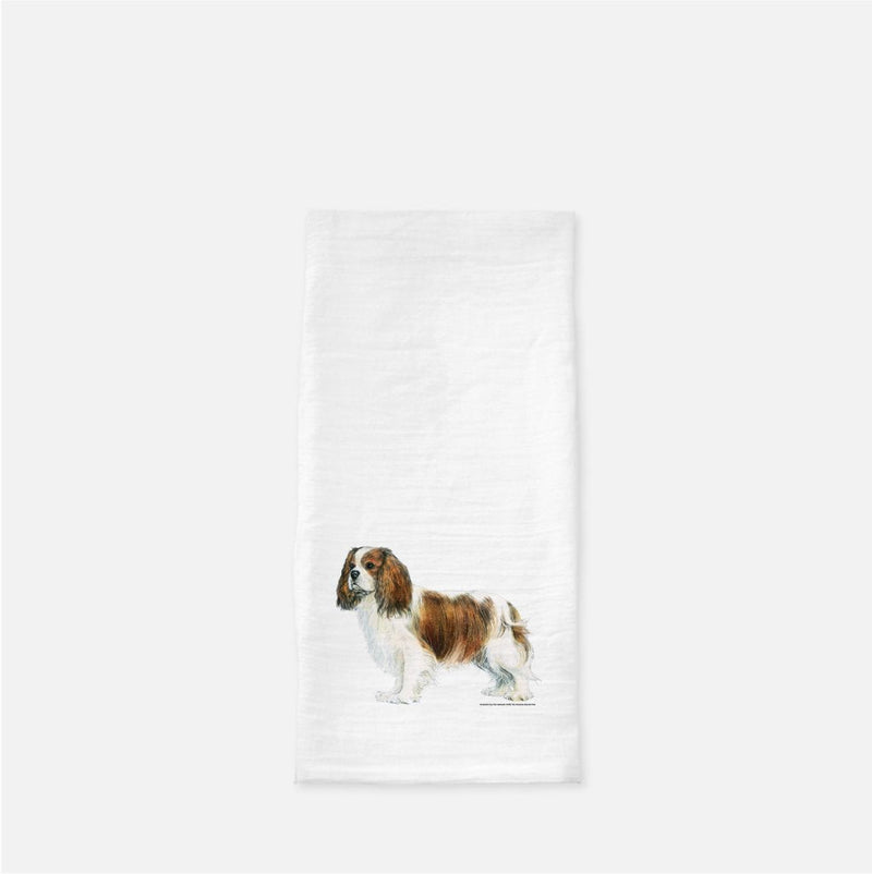 Cavalier King Charles Spaniel Tea Towel