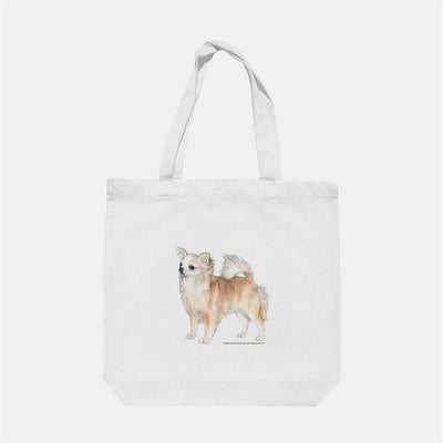 Chihuahua, Long Coated Tote Bag