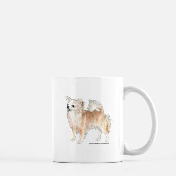 Longhaired Chihuahua Coffee Mug