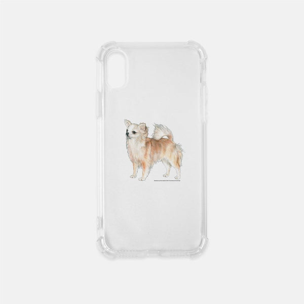Longhaired Chihuahua Phone Case