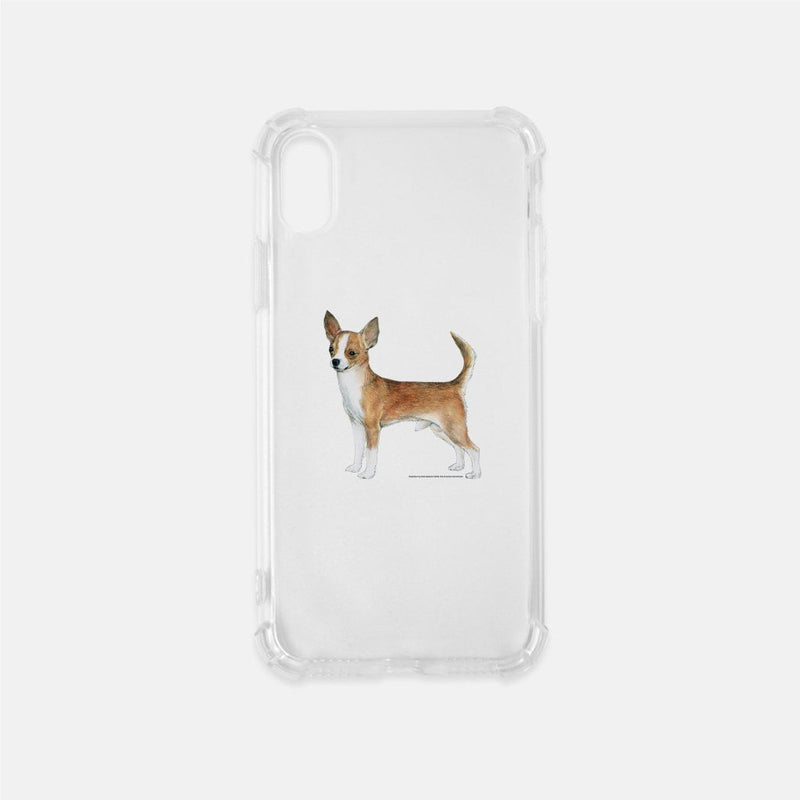 Chihuahua Clear Phone Case