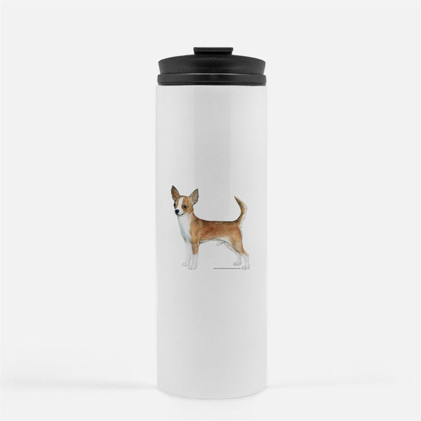 Chihuahua, Smooth Coat Thermal Tumbler