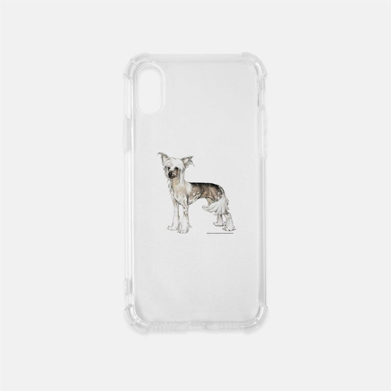 Chinese Crested Clear Phone Case